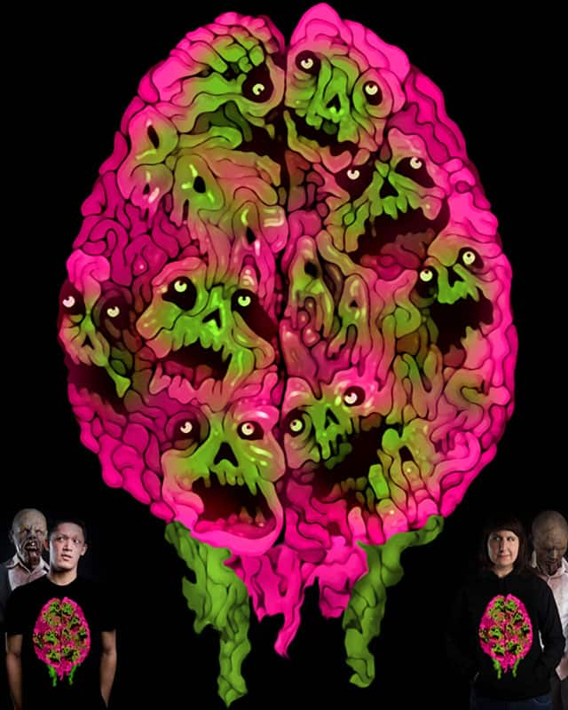 Rotten Brain by ArTrOcItY on Threadless