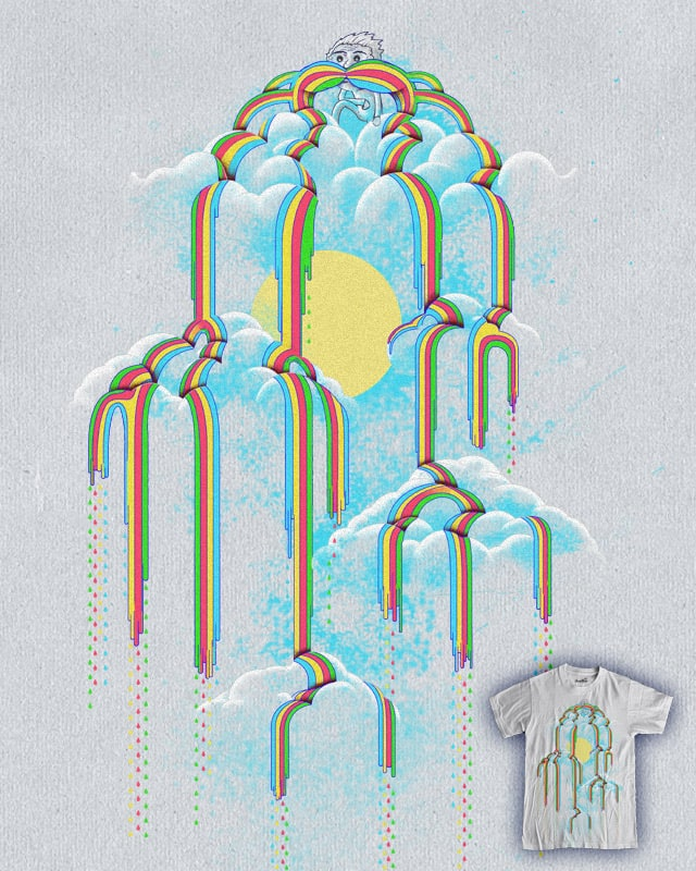 Somewhere Over My Mustache by Kyle Cobban on Threadless