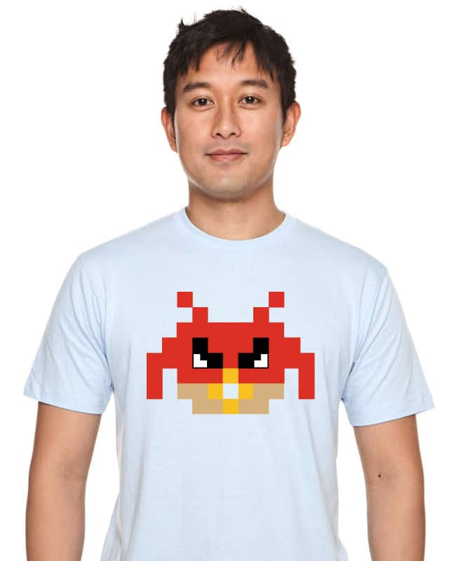 Angry Invader by im8bit on Threadless