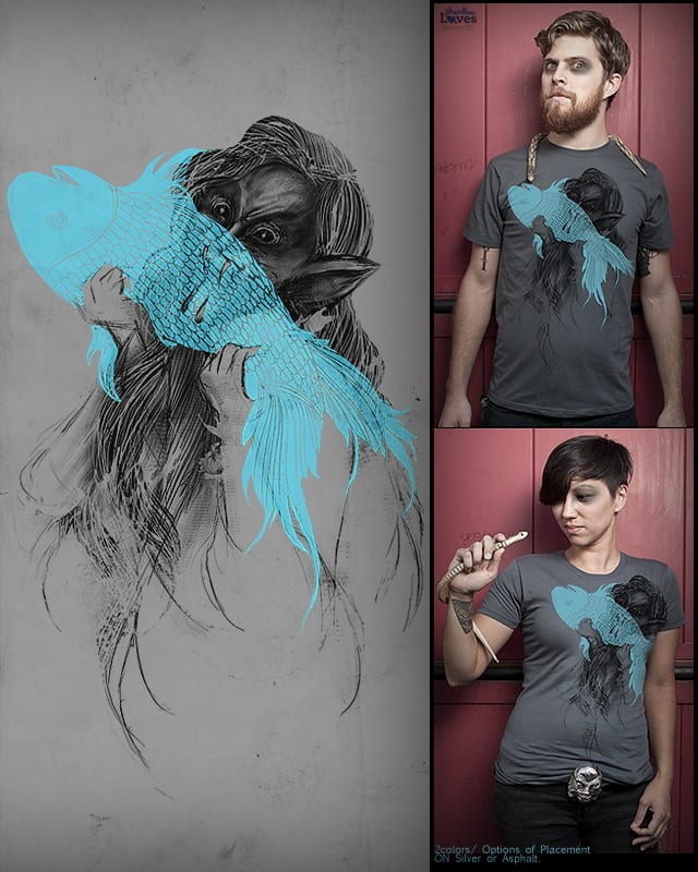 GOT FISH? by anwarrafiee on Threadless