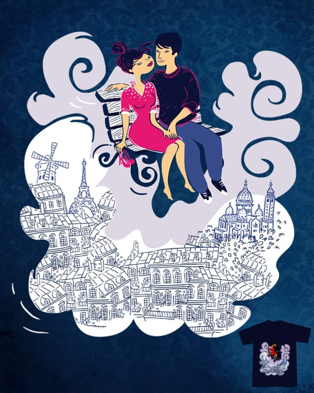 Love in Paris by Shaloyou on Threadless