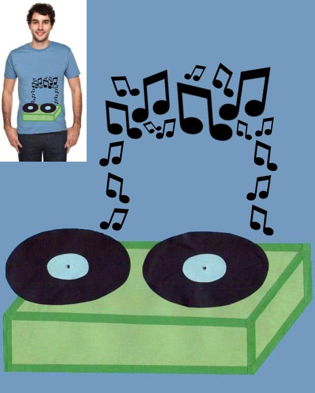 Beamed by music by miss.tangerine on Threadless