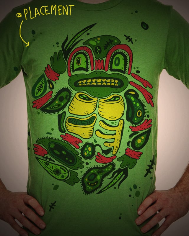 Teenage Mutant Ninja DNA by hugodiaz on Threadless