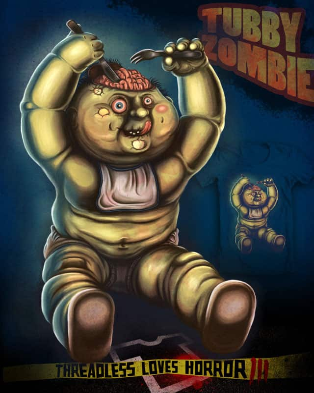 Tubby Zombie by rompetelcuero on Threadless
