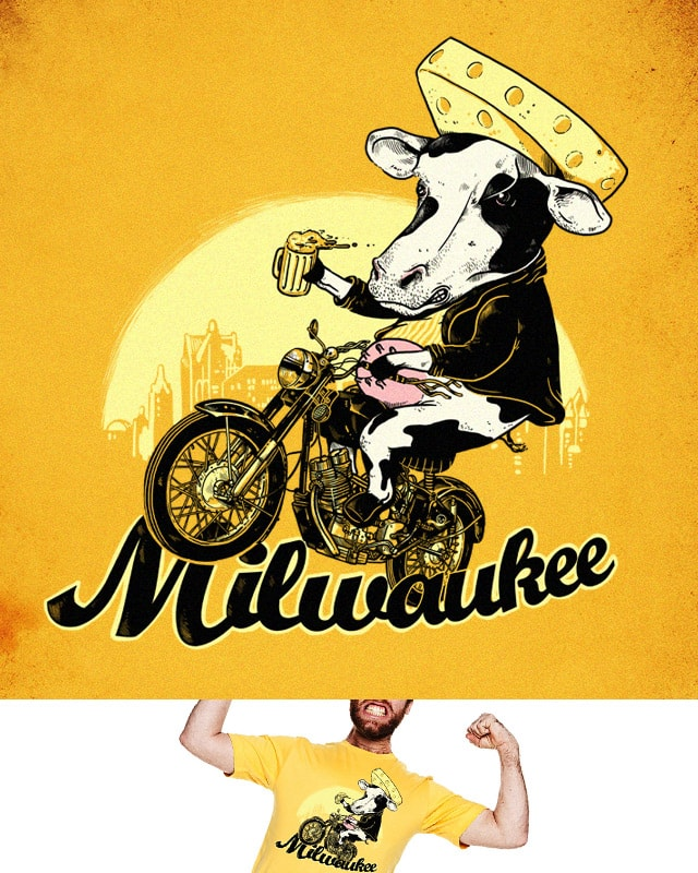 Milwaukee by alexmdc on Threadless
