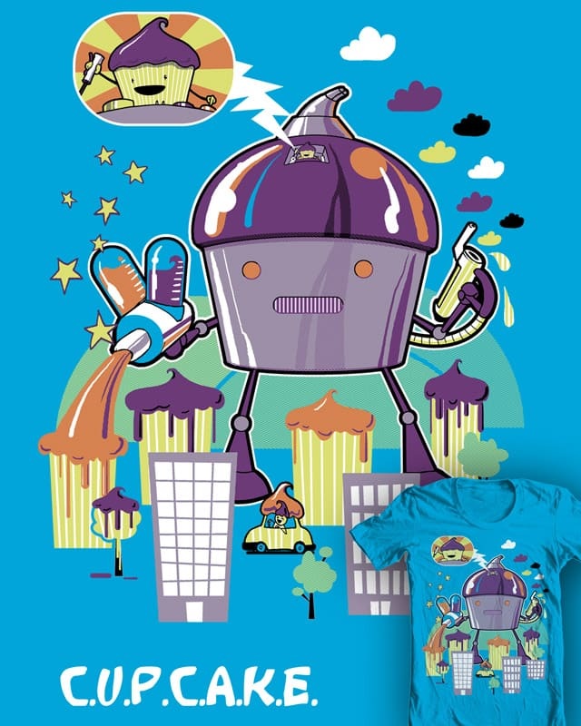C.U.P.C.A.K.E. by robbielee on Threadless