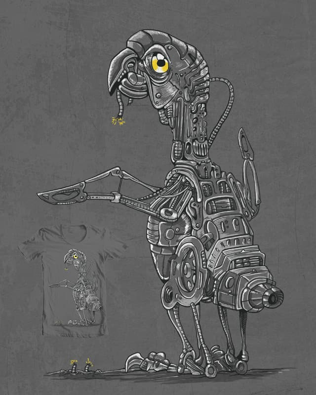 Robot Chicken by ppmid on Threadless