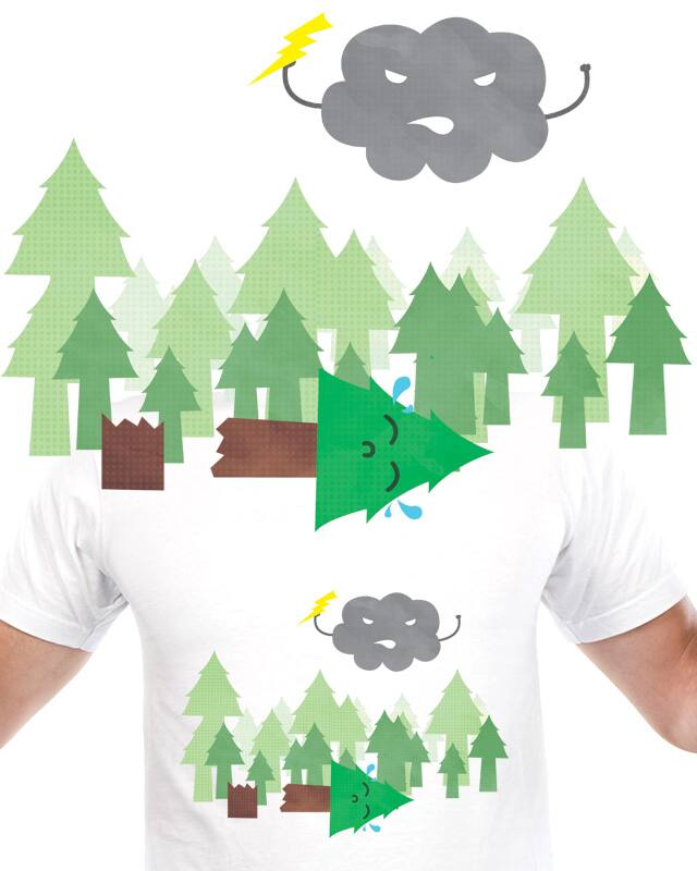 Mean Cloud by Evan_Luza on Threadless
