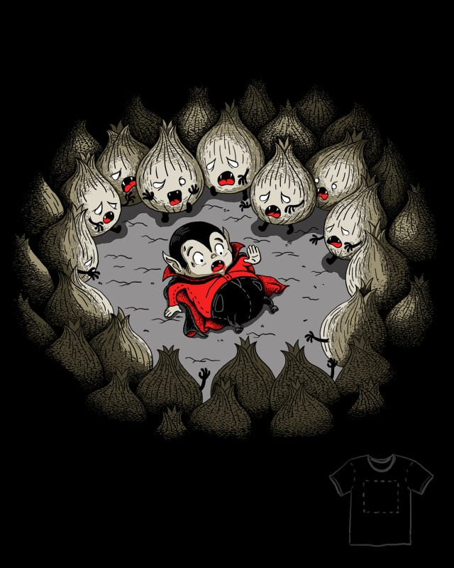 Dracula vs Garlic by Zen Studio on Threadless
