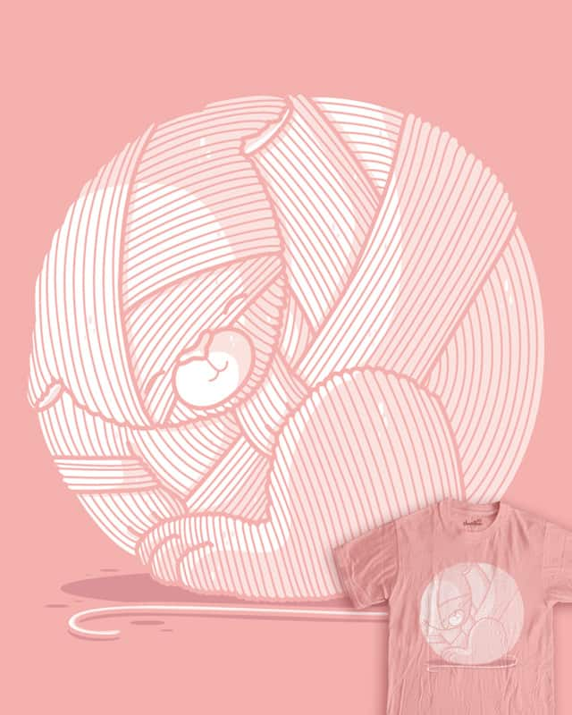Ball of yarn by Recycledwax on Threadless
