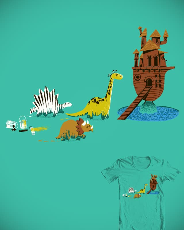 Nice try, Dinosaurs ! by malo and the whale on Threadless