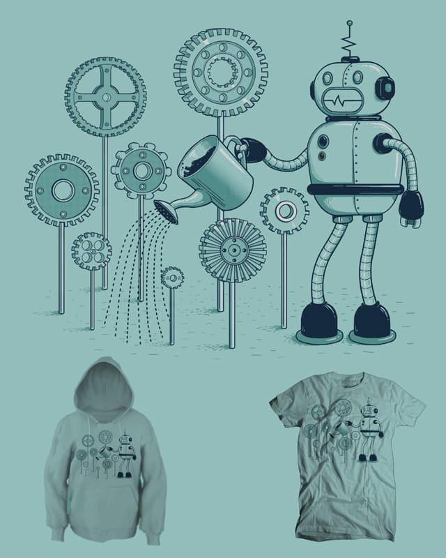 Gear Garden by jillustration on Threadless