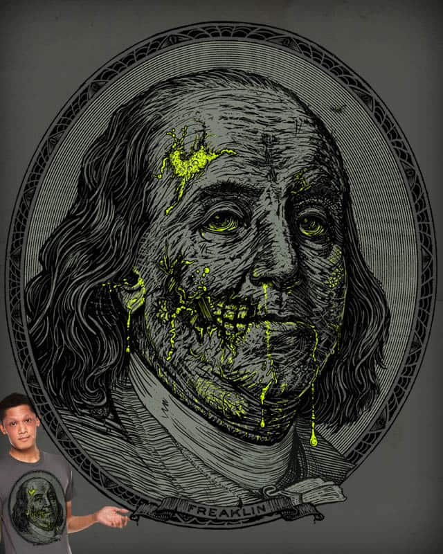 Benjaminfected by kennybanzai on Threadless