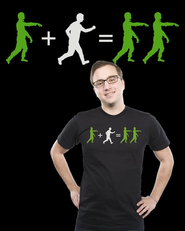 Zombie mathematics by Manikx on Threadless