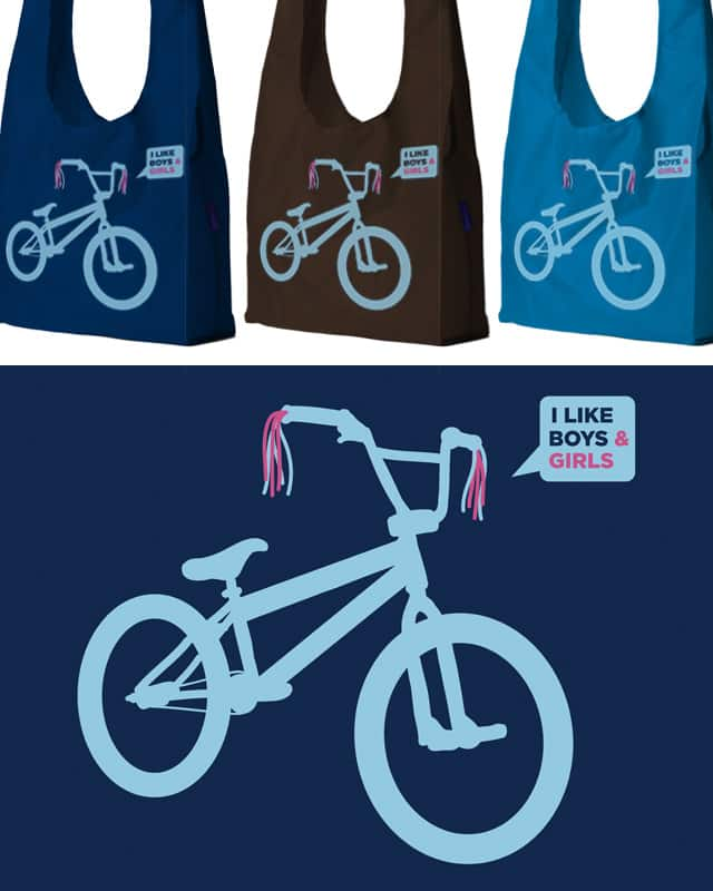 bi cycle by campkatie on Threadless