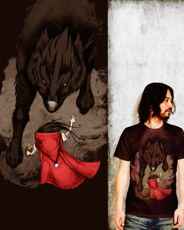 Big Bad Wolf by StevenT on Threadless