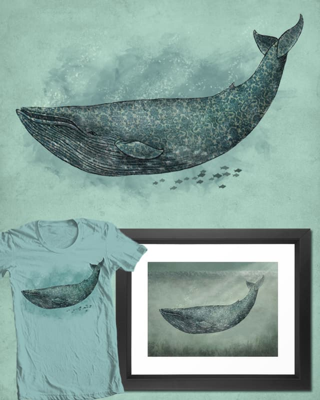 Damask Whale by igo2cairo on Threadless