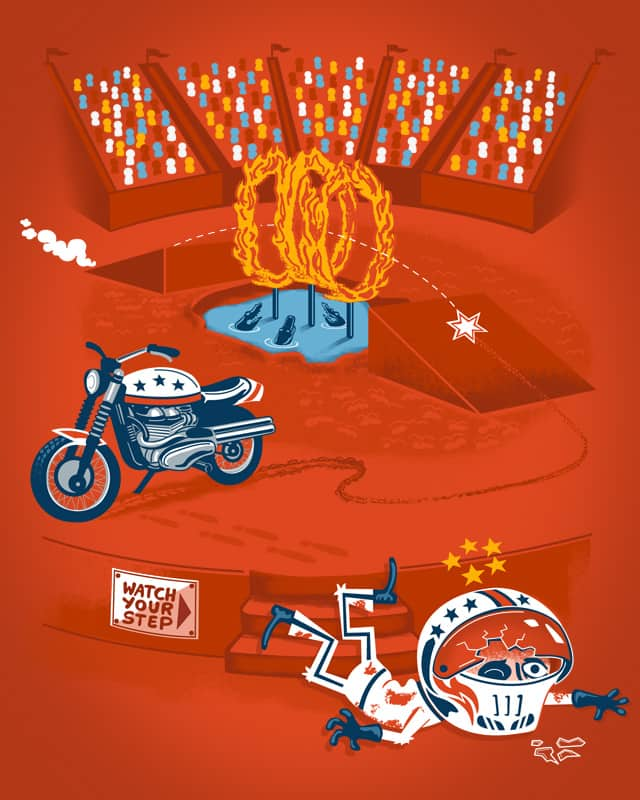 Evel Kn'awful by ibyes on Threadless