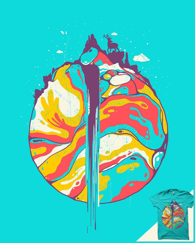 Abstract world by robsonborges on Threadless