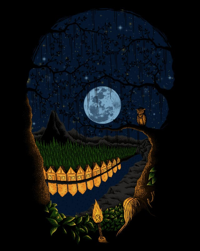 Midnight Silhouette V2 by Stereomode on Threadless
