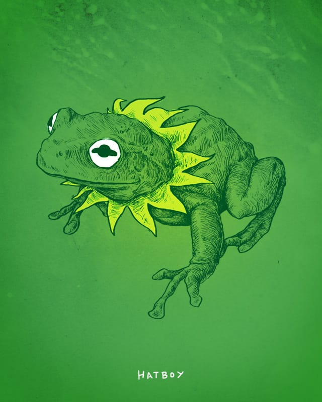 Being Green by Hat_Boy on Threadless