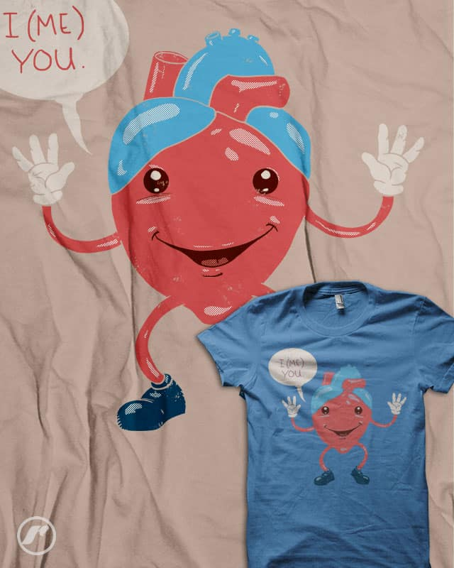 I (me) You by RazCity on Threadless