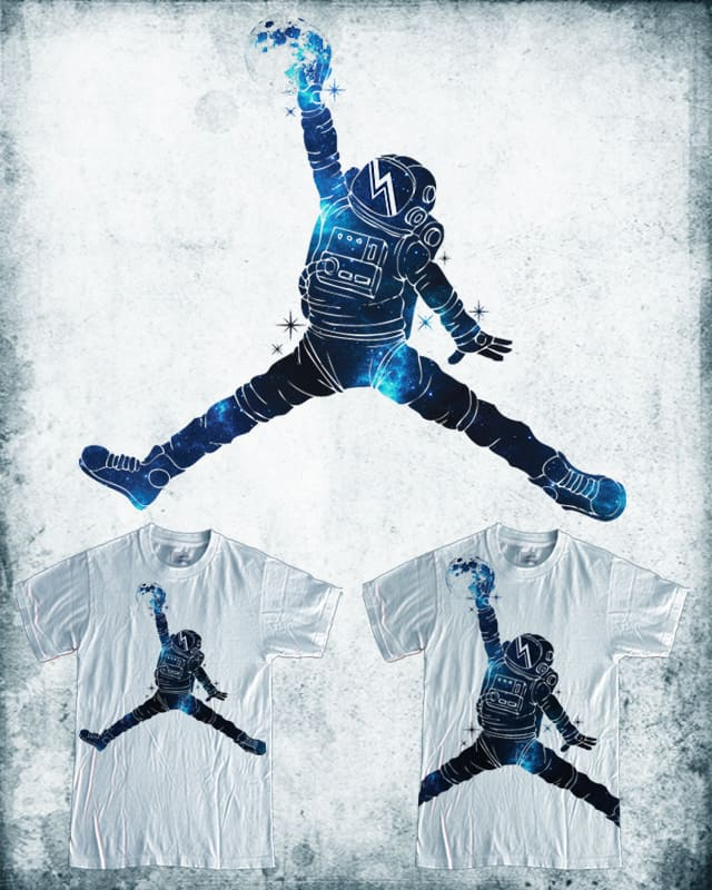 space dunk by Steven T on Threadless