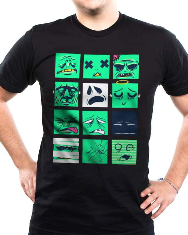Dead Pixels by TerryMakesStuff on Threadless