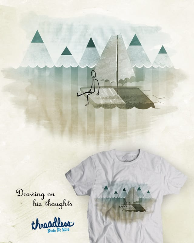 Drawing on his thoughts by Raulio on Threadless