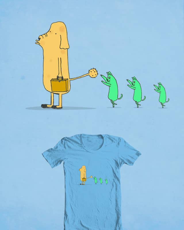 Cat Tickler by Calvin Wu on Threadless