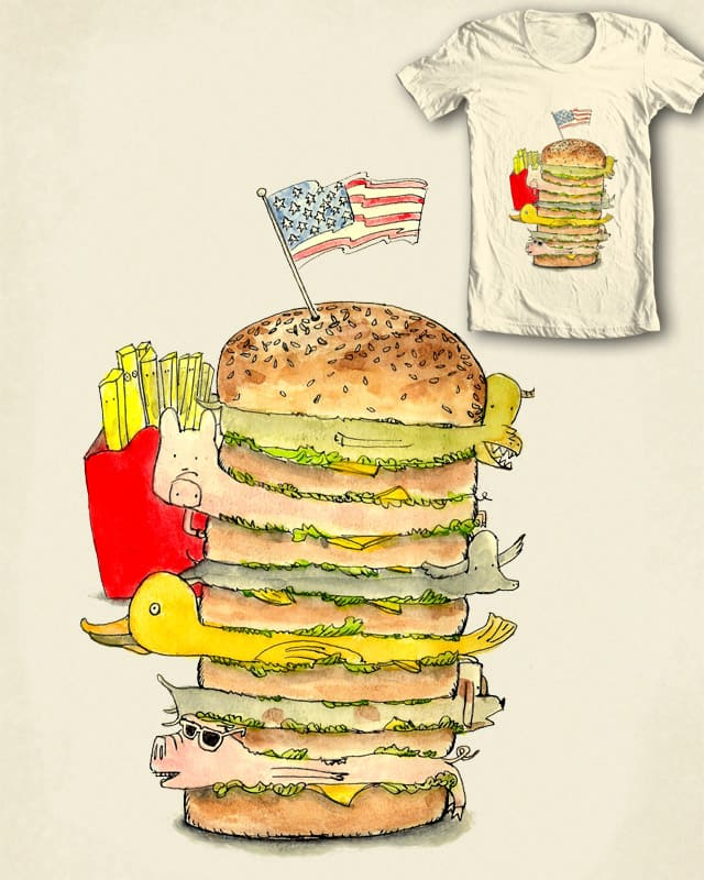 Fast Food by Calvin Wu on Threadless