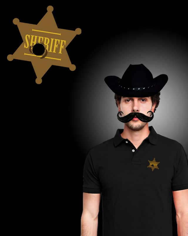 Who Shot The Sheriff? by eQuivalent on Threadless