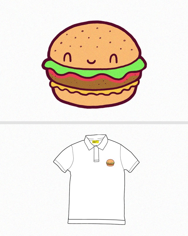 Happy Burger by randyotter3000 on Threadless