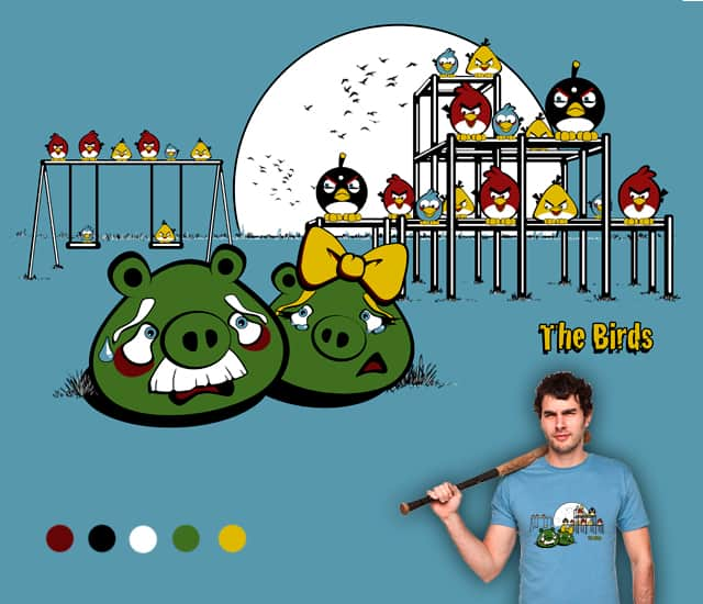 The (Angry) Birds by Wirdou on Threadless