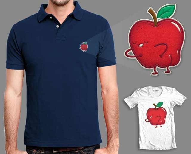 Apple Bottom by pilihp on Threadless