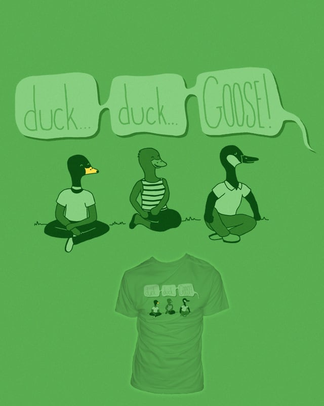 What's so bad about being a goose? by psherman42 on Threadless
