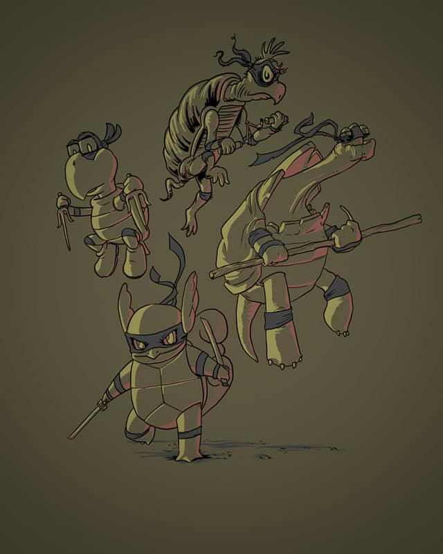 Ninja Turtles by fightstacy on Threadless