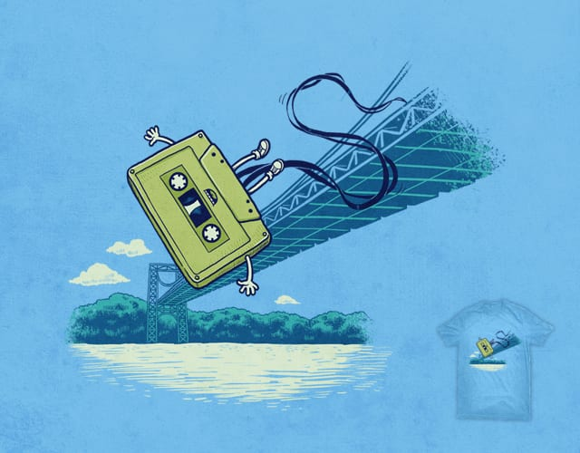 Bungee Jumping by ben chen on Threadless