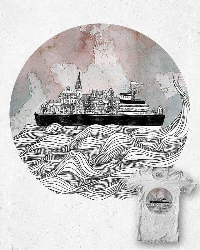 Almost Home by Fleck on Threadless