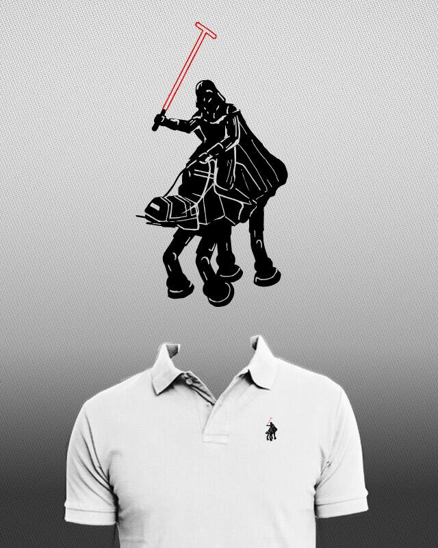 An elegant polo for a more civilized age by GyleDesigns on Threadless