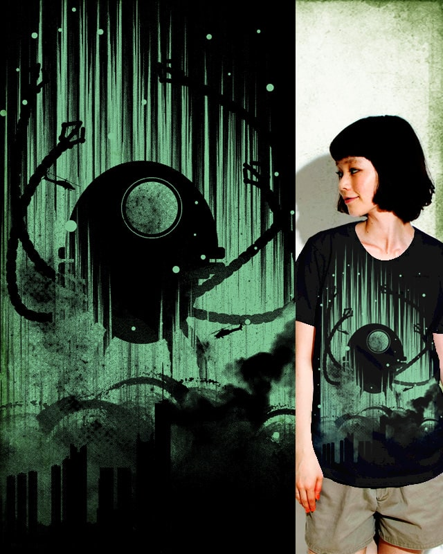 octo-bot attack by StevenT on Threadless