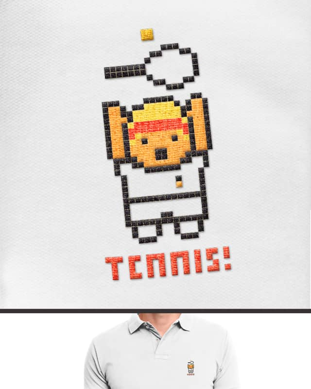 TENNIS! by aled on Threadless