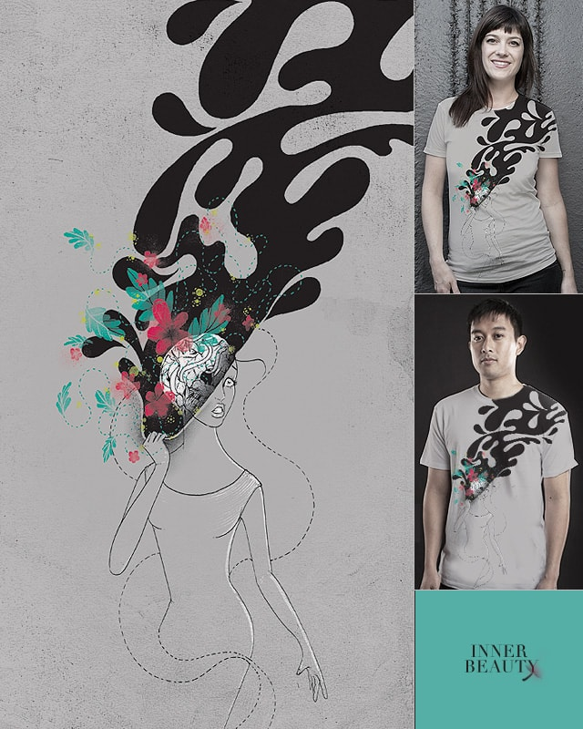 INNER BEAUTY by anwarrafiee on Threadless