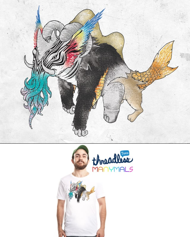 Manymals. by anwarrafiee on Threadless
