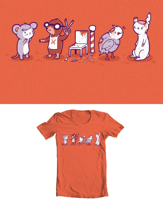 A Mole Hairdresser by randyotter3000 on Threadless