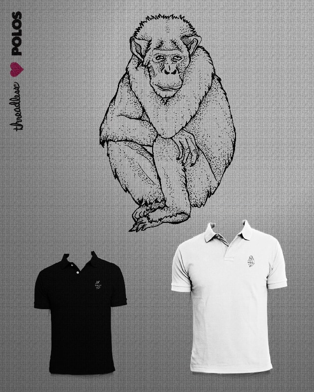 Monkey or not monkey? by camilaplate on Threadless