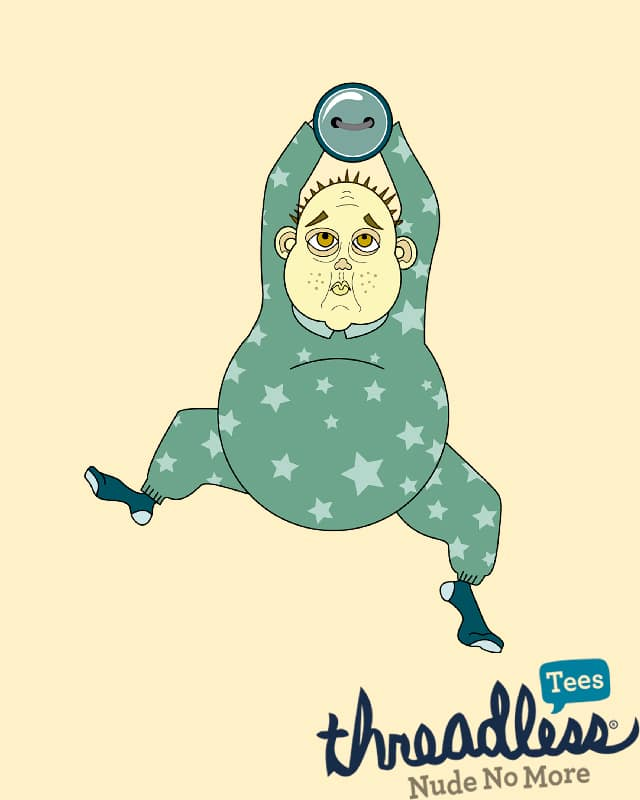 Old Baby by camilaplate on Threadless