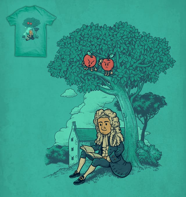 Sneak Attack of Apples by ben chen on Threadless