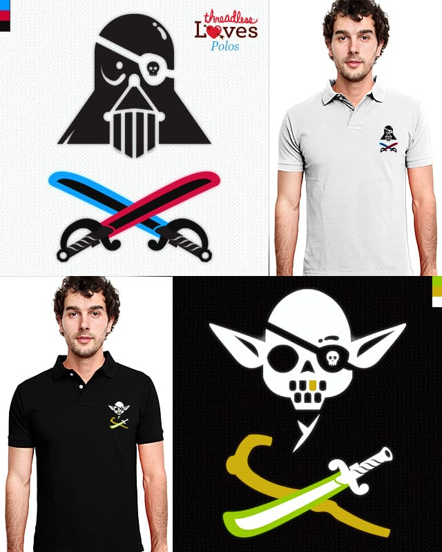 Pirate Lord & Master Pirate by HtCRU on Threadless