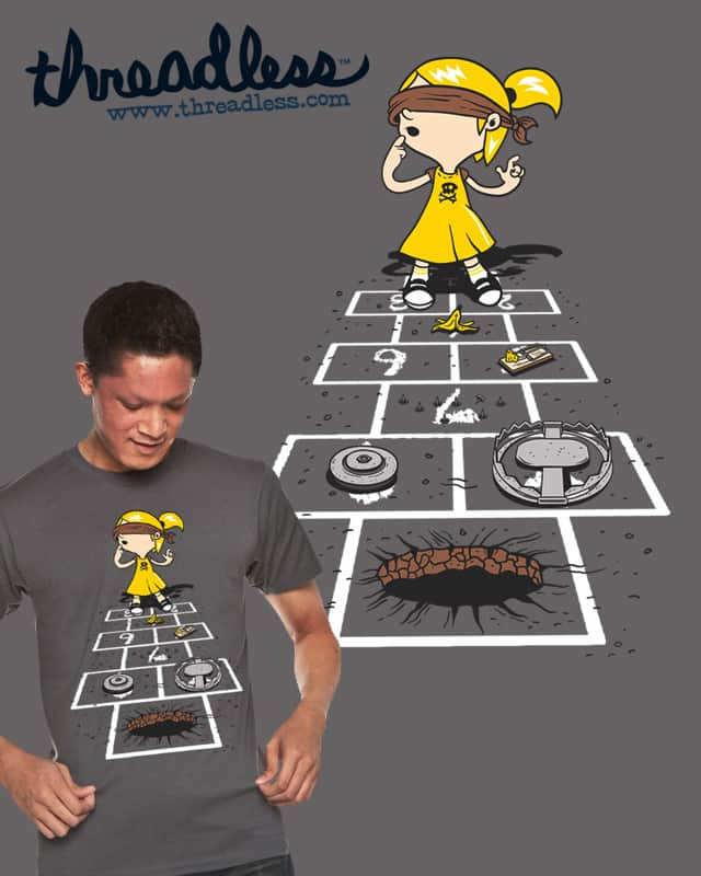 HOPSCOTCH ANYONE? by lumad on Threadless